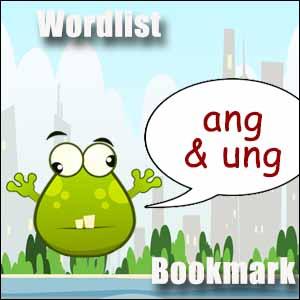 ang ung word list