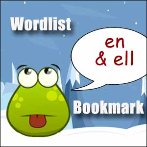 en ell wordlist bookmark
