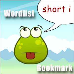 short i wordlist