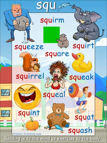 squ words