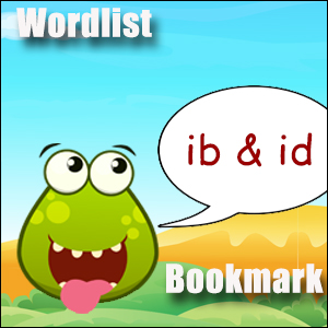 id words ib words