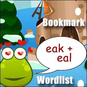 eak words & eal words