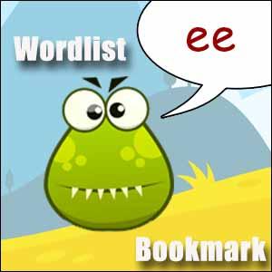 ee word list