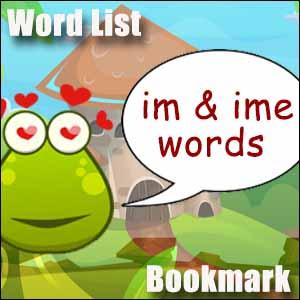 im words ime words