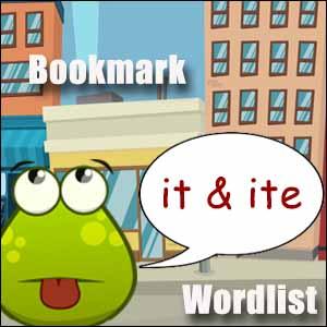 it words ite words