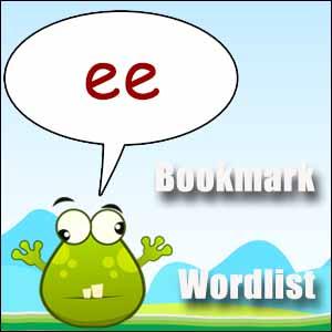 spelling list ee