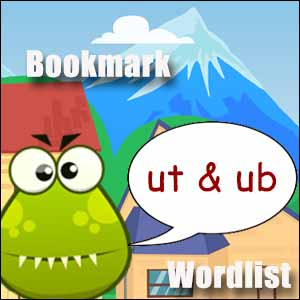 ut words & ub words