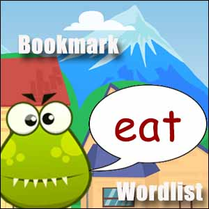 eat word list