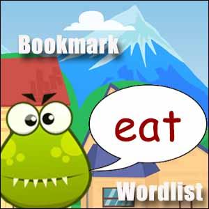 eat word list