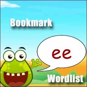ee spelling list