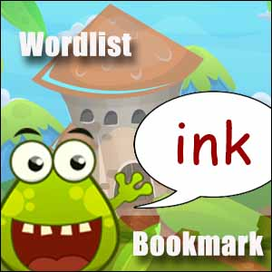 ink words