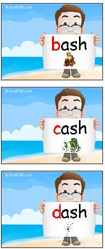 ash words