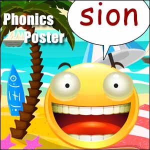 phonics list sion