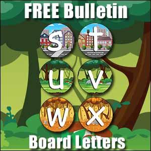 FREE bulletin board letters