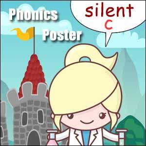 Silent c words