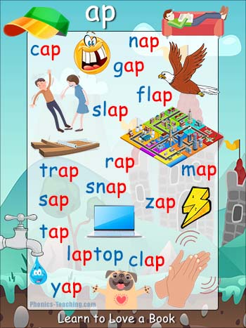 words ending in ap