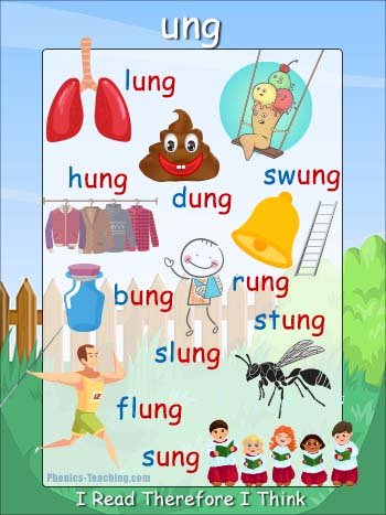 ung word family poster