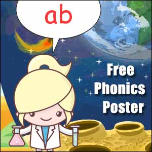 ab word family poster