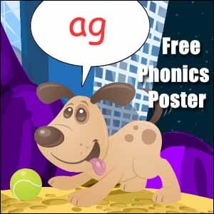 words with ag poster