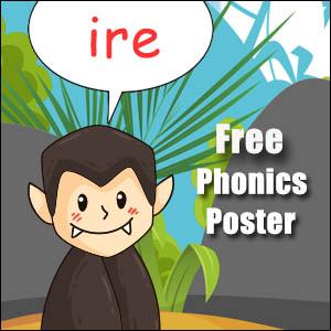 ire words poster