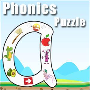 alphabet puzzle a