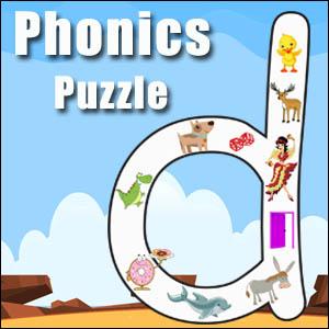 alphabet puzzle letter d