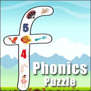 alphabet puzzle f