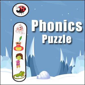 alphabet puzzle i