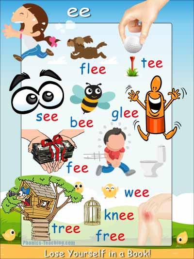 ee words vowel digraph
