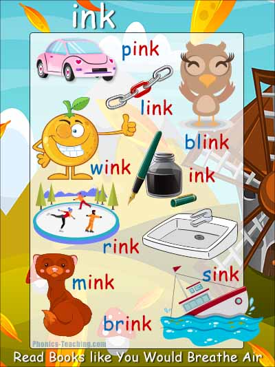 ink word family