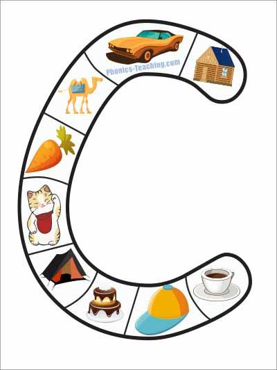 alphabet puzzle letter c