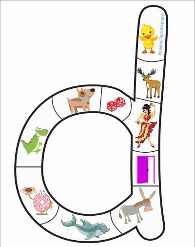 letter d puzzle