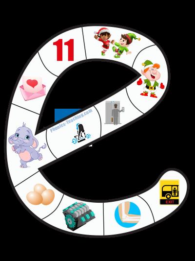 letter e puzzle