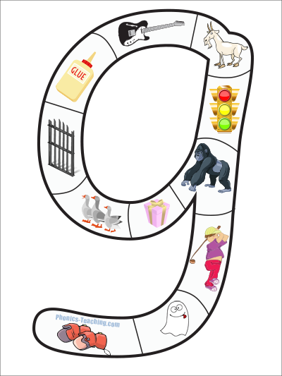letter g puzzle