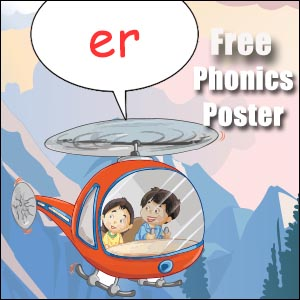 er words phonics poster