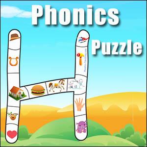 H alphabet Puzzle