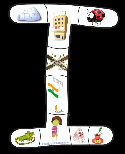 I alphabet puzzle