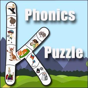Letter k Puzzle