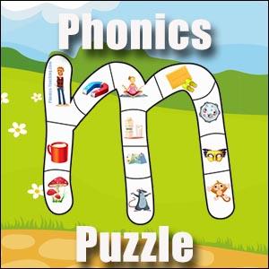 Letter m puzzle