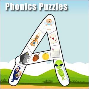 A alphabet puzzle