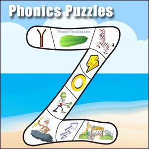 alphabet puzzle z