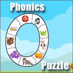 alphabet letter o puzzle