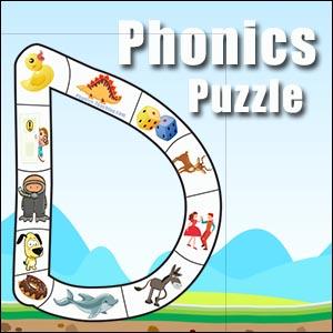 alphabet puzzle d