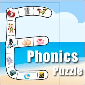alphabet puzzle e