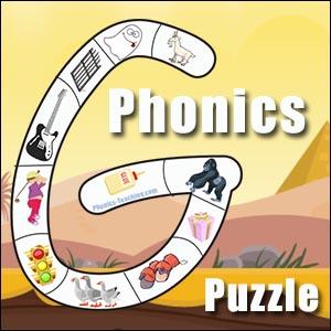 alphabet puzzle g