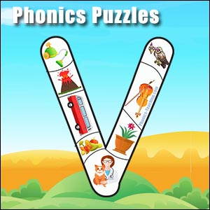 alphabet puzzle v