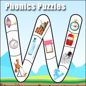 alphabet puzzle w