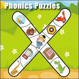 alphabet puzzle x