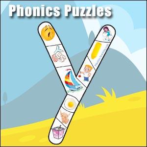 alphabet puzzle y