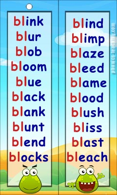 bl words